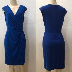 Ralph Lauren cobalt blue dress